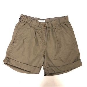 Country Road Cotton Linen Cargo Shorts size 8